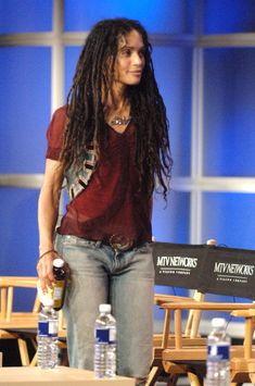 Lisa Bonet's Style Evolution: Badass Boho Chic Since The Zoe Kravitz Style, Lenny Kravitz, Vision Board Diy, Jason Momoa Lisa Bonet, Goddess Locs, Celebs, Celebrities, Mode Outfits, Celebrity Hairstyles