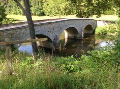 Burnside's bridge at Antietam.