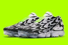 5a5acfc434eb9 ACRONYM NikeLab New Images photos reveal release date info inforamtion  Errolson Hugh footwear Nike Air vapormax Moc fk black white volt