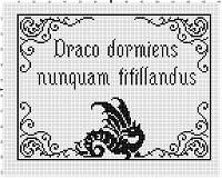 Never Tickle a Sleeping Dragon Hogwarts Latin Motto Harry