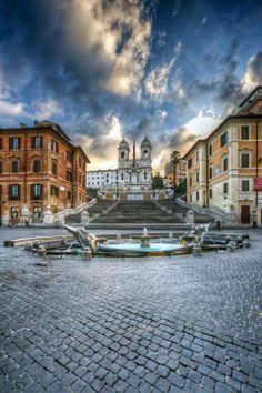 La Scalinata della Trinità dei Monti, Rome