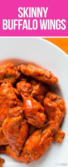 Skinny Buffalo Wings: This wing recipe is the perfect tailgate recipe for Super Bowl Sunday!