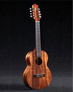 I love my 8 string Kamaka ukulele s