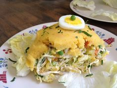 4th generation peruvian recipes: Causa