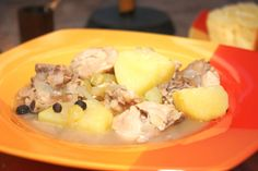 Bahamian Chicken Souse — The Hobo Kitchen Sunday Recipes, Dinner Recipes, Potatoes On The Stove, Bahamian Food, Potato Juice, The Dish, Soups And Stews, Food Print, Food And Drink