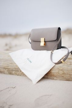 STYLED & SMITTEN: Céline Classic Box Bag in Souris