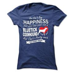 If you love Bluetick Coonhound then this shirt is for you!