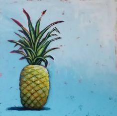 """""""Pineapple Crush"""" Original Art by phillipaheart.com"""