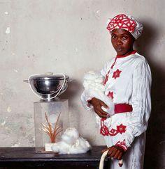"""Santeria Practitioners, Cuba,"" 1996   Ph: Phyllis Galembo"