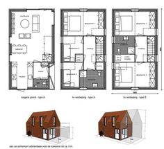 The Grow Home is back with these flatpack houses for Dutch first-time homebuyers : TreeHugger