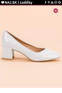 Lakované biele lodičky Diamantique Kitten Heels, Platform, Shoes, Fashion, Moda, Zapatos, Shoes Outlet, Fashion Styles, Shoe