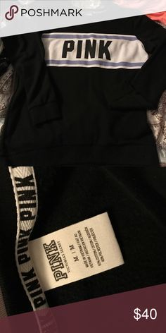 Victoria's Secret Crew Super soft VS Crew. No stains or any signs of wear. I don't believe this has ever been worn. Size medium! PINK Victoria's Secret Tops Sweatshirts & Hoodies