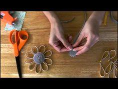 ▶ Zipper Trim Sunflower Tutorial - YouTube