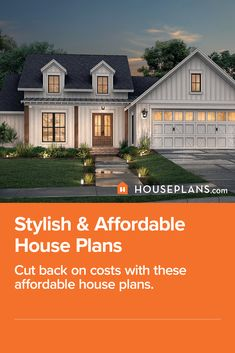 Looking for rustic farmhouse plans, bandominium ideas, luxury living building plans, and more? Then check out these affordable and stylish house plans. Click the image to read the blog! Questions? Call 1-800-913-2350 today. #blog #architecture #modern #bungalow #architect #architecture #buildingdesign #country #craftsman #houseplan #homeplan #house #home #homeblog Affordable House Plans, Affordable Housing, Modern Farmhouse Plans, Rustic Farmhouse, Building Plans, Building Design, Modern Bungalow, Luxury Living, Craftsman