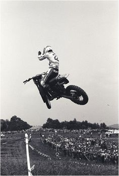 """Danny Magoo Chandler -Classic picture of Magoo coming out of Gravity Cavity, NY. """"The greatest motorcycle racer of all time."""""""