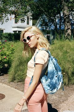 Indie Summer Fashion with Floral Sunglasses