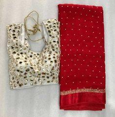 Fancy Blouse Designs, Bridal Blouse Designs, Dress Designs, Saree Blouse Patterns, Saree Blouse Designs, Pearl Work Saree, Wedding Saree Blouse, Lace Saree, Cotton Saree