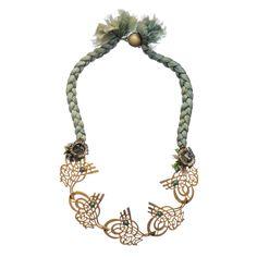 Ottoman Inspired Necklace by Hüseyin Sağtan