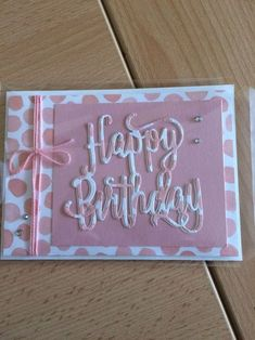 Great Screen female Birthday Card Style Birthday celebrations are generally something useful — all those particular days in the year after Homemade Birthday Cards, Girl Birthday Cards, Birthday Cards For Women, Bday Cards, Homemade Cards, Female Birthday Cards, Making Greeting Cards, Greeting Cards Handmade, Happy Birthday Cards Handmade