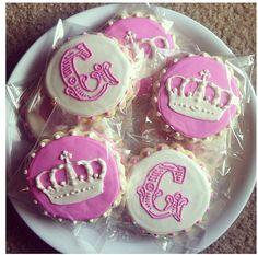 Princess Birthday Cookies / One Dozen