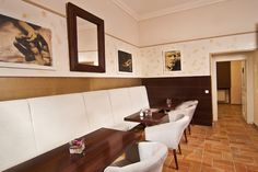 www.hotelpraga1prague.com Prague Hotels, Cozy Room, Dining Bench, Conference Room, Table, Furniture, Home Decor, Prague 1, Dining Room Bench