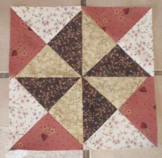 Civil War Quilt blocks 2012 | Barbara