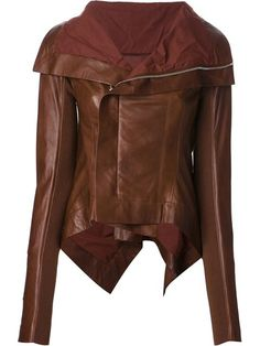 Shop Rick Owens 'Naska' biker jacket in Stijl from the world's best independent boutiques at farfetch.com. Over 1000 designers from 60 boutiques in one website.