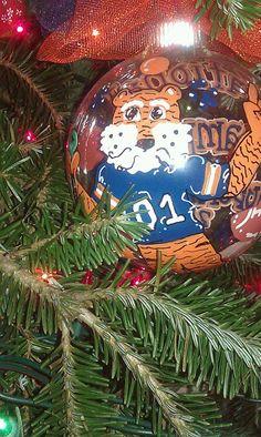 Aubie ornament  $25