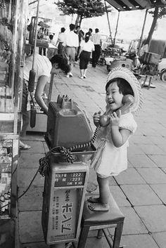 BAMBINA IN GIAPPONE, 1958