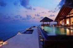 Taj Exotica Resort, un hotel de rêve situé aux Maldives.