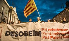 """Europe must address Spain-Catalonia issue - theguardian.com, Joseph A Munoz, 2 October 2014. """"European governments say this is an internal matter and it's an acceptable position, although David Cameron has advised the Spanish to allow Catalans a say as he's done with Scotland. However, on 9 November, if the vote is blocked, the Catalan government will be forced into calling an early plebiscitary election and, depending on the result, make a unilateral declaration of independence."""""""