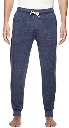 Mens EcoFleece Active Pants Small Eco Navy * Check this awesome product by going to the link at the image.(This is an Amazon affiliate link and I receive a commission for the sales)