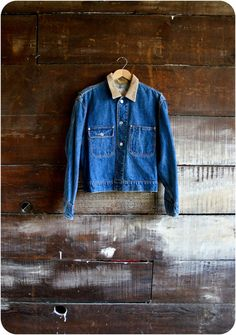 Nothing is more rural and rustic than a denim jacket. #MaggiePate #InksandThread