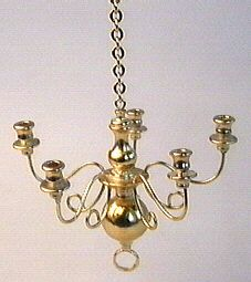 kandelaar_chandelier_brass_koper_poppenhuis_dollhouse_shabby_lightning_ lamp_licht_hangend_vintage_distressed_12th_scale_ 1_op_12 schaal