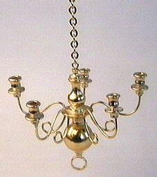 kandelaar_chandelier_brass_koper_poppenhuis_dollhouse_shabby_lightning_ lamp_licht_hangend_vintage_distressed_12th_scale_ 1_op_12 schaal