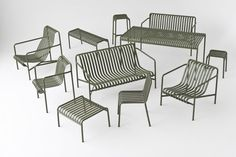 """Palissade (which in french means """"fence"""" or """"palisade"""") is the range of outdoor furniture that Studio Bouroullec has produced in collaboration with HAY..."""