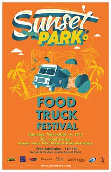 Sunset Park'd | Sunset Parked Food Truck Event | Clark County Parks and Recreation | 11/16/2013