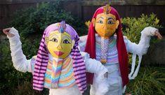 Pharaoh's Mummy Costume DIY for Halloween | Alpha Mom