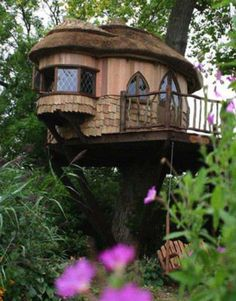 cute treehouse - Google Search