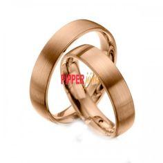 cc62d36a428bc Par de Alianças em Ouro Rosé 18k 750 - R27. Pipper Jóias
