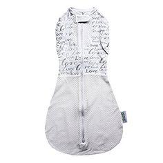 Woombie Original Baby Swaddle, Blue Moon, Mega Baby 20-25 Lbs