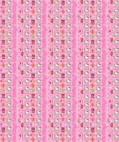 Hello Kitty star paper Iphone 6 Wallpaper, Origami Stars, Sanrio Hello Kitty, Paper Beads, Cotton Fabric, June