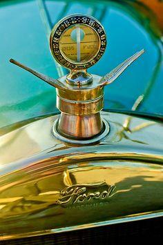 1923 Ford Model T Hood Ornament - Boyce MotoMeter by Jill Reger
