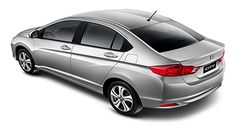 Honda City EXL 3/4 Traseira Superior 5 PRATA City 2016