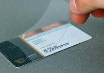 DISTRIPAPER tarjeta de visita en PVC