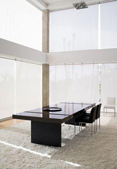 Baltus furniture. Minimalism for dining room.