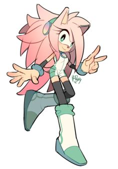 This is Zamy in the Zonic world in her weekend outfit.(#THIS IS OUT OF THIS WORLD)