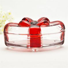 Gift Use Tableware Glass Jewelry Jar