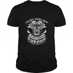 This is a great gift for Eagle lovers Biker shirt Im Just Turning Chrome TShirts Tee Shirts T-Shirts