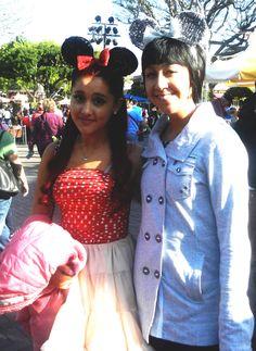 Ariana in disneyland March12